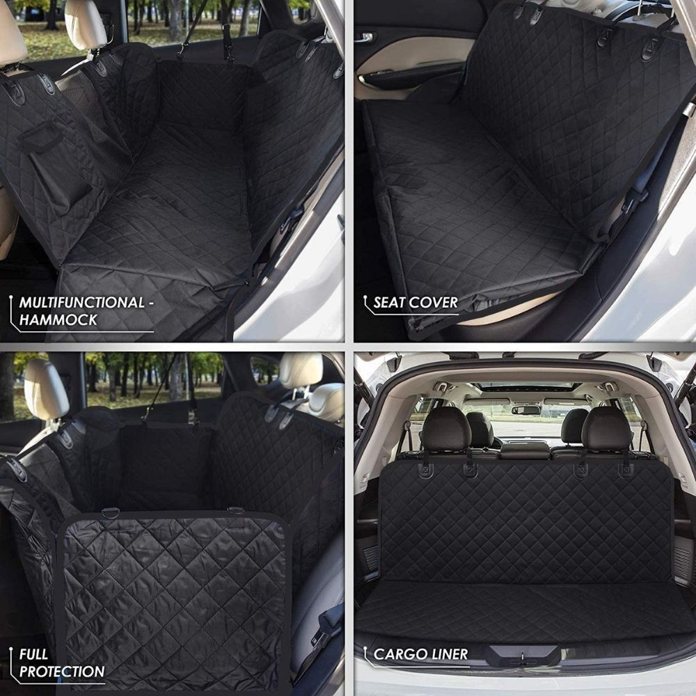 pet car back seat cover hammock