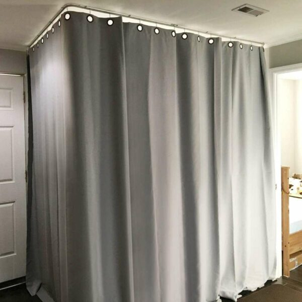 buy curtain track on ceiling