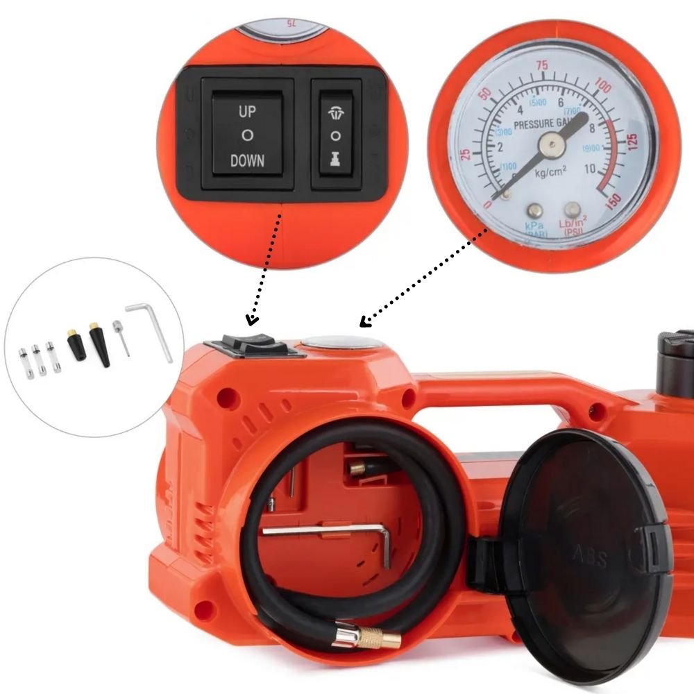 electric tyre pump kit